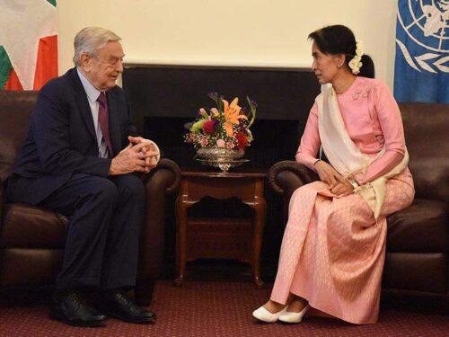 Il governo del Myanmar sequestra i conti bancari di Soros