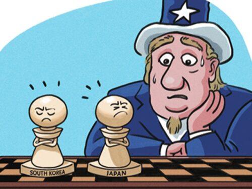 Gli USA vogliono che Giappone e Corea del Sud diventino merce di scambio