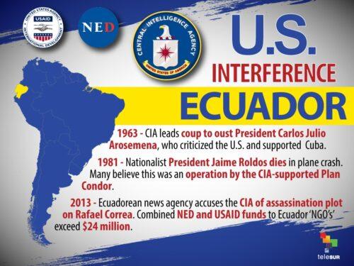 Ecuador: la CIA allo sbando