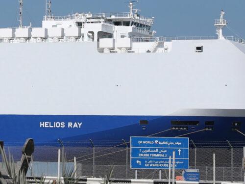 Come è stata bloccata la nave-spia israeliana Helios Ray