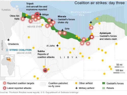 10 anni di sofferenza libica per mano di Washington
