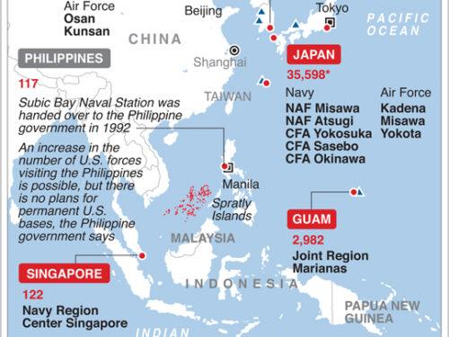 La Francia si unisce all'avventurismo nordamericano nel Mar Cinese Meridionale