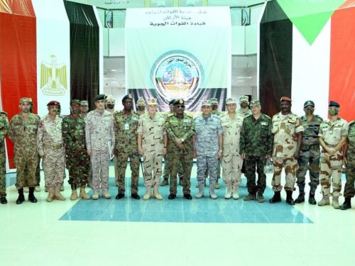 """Le forze egiziane in Sudan per le manovre congiunte """"Guardiani del Nilo"""""""