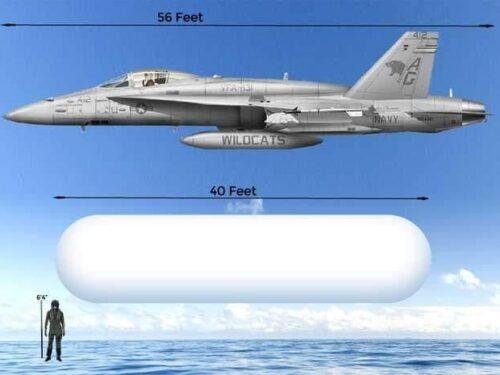 Gli UFO che sorvolano le navi da guerra statunitensi provengono dalla Russia