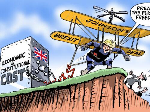 La dimostrazione di potenza della Gran Bretagna è una reliquia del passato