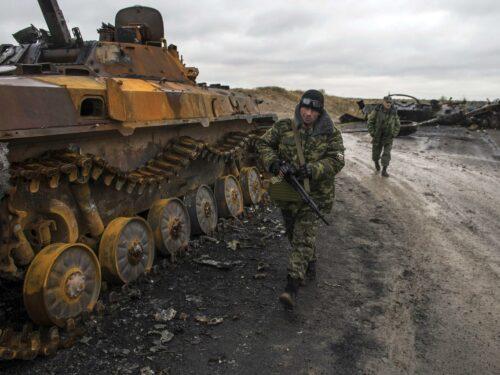 Nel Donbas, la 93.ma brigata distrugge un posto di blocco della 128.ma brigata ucraina