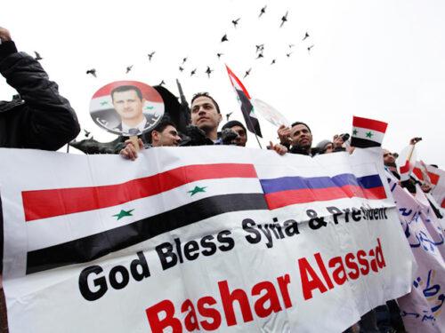 Il viaggio di Kazbek Tajsaev in Siria