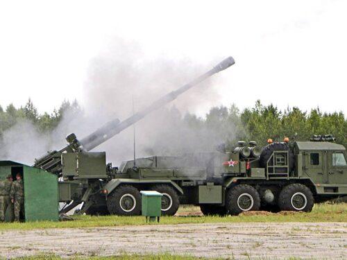 La nuova artiglieria dell'esercito russo