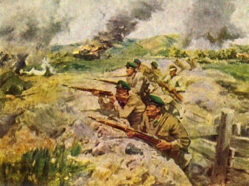 Sbarchi sovietici in territorio nemico nel 1941