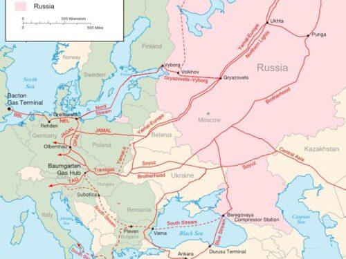 La Russia chiude l'anello dei gasdotti europei