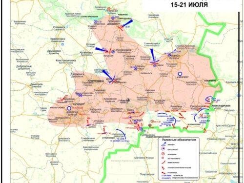 Il piano d'invasione olandese del Donbas