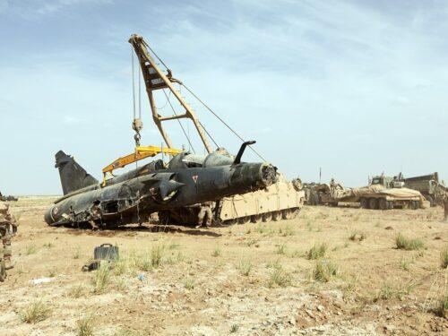 Un caccia Mirage 2000 si schianta in Mali