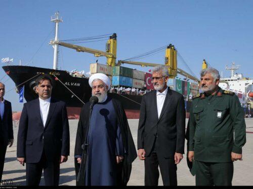 Rouhani inaugura l'oleodotto Goreh-Jask