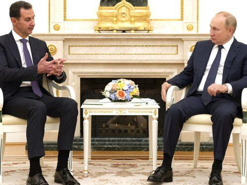 Incontro con il Presidente Bashar al-Assad
