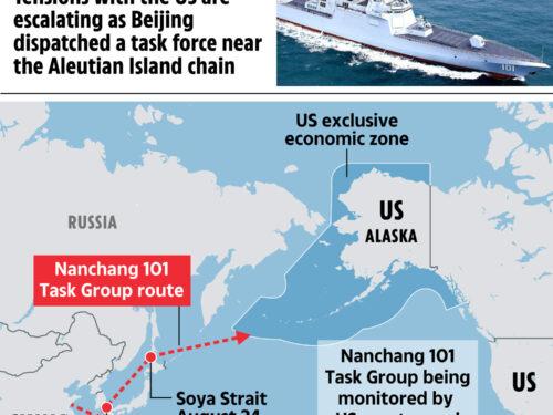 Libertà di navigazione: i cacciatorpediniere cinesi pattugliano la zona economica esclusiva degli USA