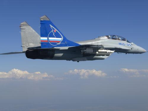 MiG-35, a guardia della frontiera
